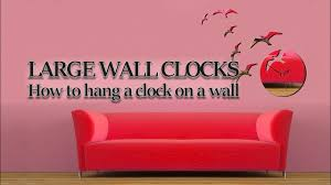 large wall clocks impressive design large decorative wall