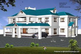 cheap home designs kerala modern house with magnificent blue