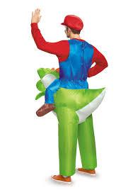 Mario Womens Halloween Costume Mario Riding Yoshi Costume