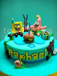 spongebob cake cake by tessatinacakes cakesdecor