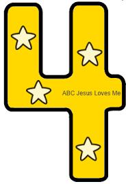 3 year week 7 abc jesus loves me