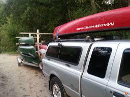 nissan frontier kayak rack proper roof rack cross bar spacing for canoes expedition portal