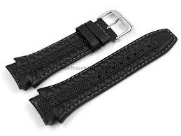 bracelet cuir montre images Bracelet montre lotus p 15753 cuir noir png