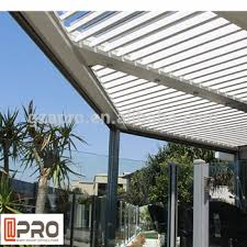 id e canap ap ro opening roof systems aluminium sun louver out door louvre roof
