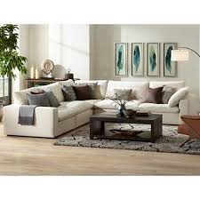 Modular Sofa Pieces by Skye Classic Natural 5 Piece Modular Sectional 1y166 1y167