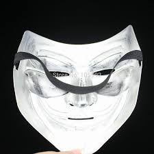 100 pcs movie theme v for vendetta mask halloween full face