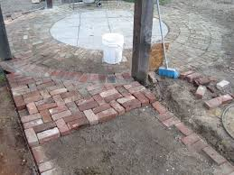 repurposed brick patio and walkway my work pinterest brick
