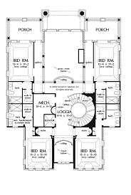 mediterranean style house plan 5 beds 6 5 baths 7211 sq ft plan