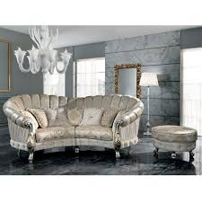 canapé style baroque canapé en tissu 4 places de style baroque fait en italie