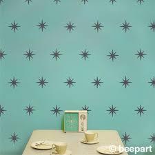 mid century wall decal pattern set vinyl art