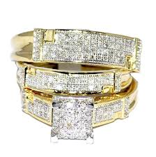 cheap gold wedding rings wedding rings wedding ring trio sets mens gold wedding bands