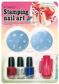 nail art konad stamping nailt ukkonad polish whiteamazon kitkonad