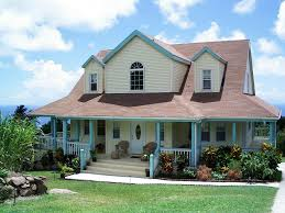 house with a wrap around porch nevis gingerland hill vacation rental home rawlins village