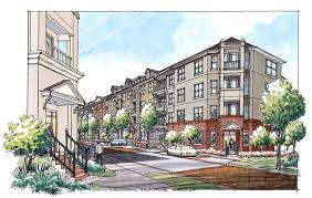 Alpharetta Luxury Homes by Two Blocks Apartment Homes U0027 In Dunwoody Ready For First Residents