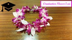 graduation leis graduation leis made with real flowers
