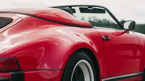 pink porsche convertible 1989 porsche 911 speedster s68 monterey 2016