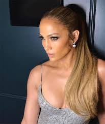 j lo ponytail hairstyles jennifer lopez s ponytail glowing makeup beauty how to