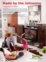 Ikea Emphasizes the Living in the Living Room  The New York Times