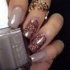 easy nail art glitter rose gold glitter nail art design nail design nail art nail salon
