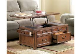 rectangle lift top coffee table woodboro coffee table with lift top ashley furniture homestore