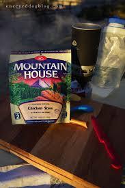 Mountain House Food One Eyed Dog Blog U2013 Chicken Stew Mountain House
