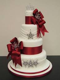 best 25 christmas wedding cakes ideas on pinterest winter