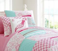 Pottery Barn Santa Barbara Nwt Pottery Barn Kids Surf Patch Full Queen Quilt U0026 Shams Pink