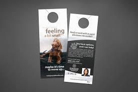 berkshire hathaway door hangers realty cards printing