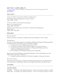 Latex Resume Templates Mit Resume Format Show Example Of A Resume Nurse Anesthetist Resume