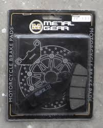 metal gear brake pads for zero yamaha yz honda cr suzuki rm dr
