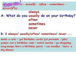 m8 choosing presents unit 1 period1 i always like birthday parties