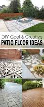 Inexpensive Patio Flooring Options Best 25 Diy Patio Ideas On Pinterest Diy Outdoor Furniture