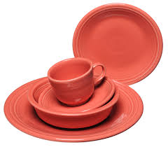 dinnerware s newest color flamingo plus made in usa