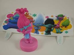 trolls cake topper poppy troll birthday cake topper figurine cake