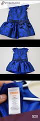 gymboree best in blue royal floral jacquard bow gymboree drop