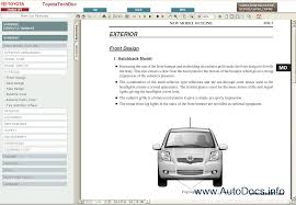 toyota yaris 2005 2008 service manual repair manual order u0026 download