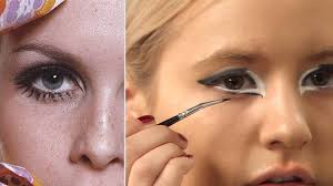 60s mod makeup tutorial for halloween inspired by twiggy youtube