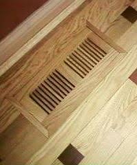 4 x 10 wood designs flush no frame vent cover vent covers wood