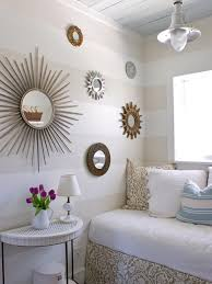 Tiny Yet Beautiful Bedrooms HGTV - Creative ideas for bedroom walls