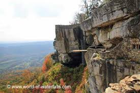 Rock City Gardens Chattanooga High Falls Lookout Mountain Usa