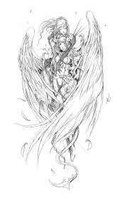 angel devil tattoo sketches photos pictures and sketches