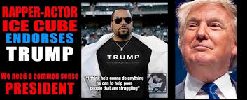 Ice Cube Meme - i will never endorse a motherf a like donald trump ever
