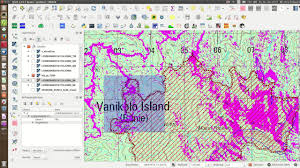 Solomon Islands Map Vanikoro Solomon Islands Logging Activity Youtube