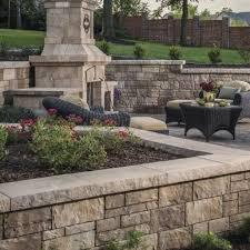 retaining wall blocks stone retaining wall pavers