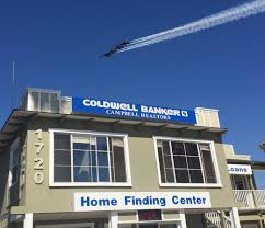 the blue angels flying over coldwell banker u2013 campbell realtors