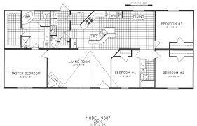 14 harmonious 1 story 4 bedroom house plans home design ideas