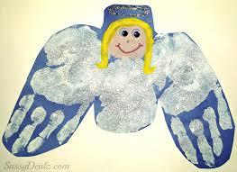 diy angel handprint craft for kids crafty morning