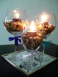 Glass Vase Centerpiece Large Wine Goblets U2013 Eatatjacknjills Com