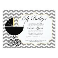 pram baby shower invitations announcements zazzle