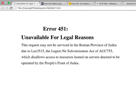 Site Unavailable - error 451 how to tell when websites have been censored csmonitor com